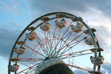 Rides at Indiana State Fair Midway, Indianapolis, Indiana, Photographic Print by Anna Miller