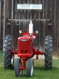Old tractor, Indiana, USA Photographic Print by Anna Miller