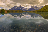Hysteria Pehoe. Cordillera Del Paine. Torres Del Paine NP. Chile Photographic Print by Tom Norring