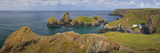 Panoramic View over Kynance Cove in the Lizard, Cornwall, England Photographic Print by Brian Jannsen