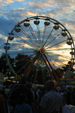Ferris Wheel, Indiana State Fair, Indianapolis, Indiana, Photographic Print by Anna Miller