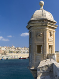 View of Valletta with Grand Harbor Seen from Senglea, Valletta, Malta Photographic Print by Martin Zwick