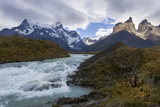 Cordillera Del Paine. Granite Monoliths. Torres Del Paine NP. Chile Photographic Print by Tom Norring