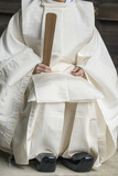 Japan, Tokyo, Meiji Shrine, Shinto Priest Photographic Print by Rob Tilley