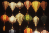 Vietnam, Hoi An, Close-Up of Asian Lanterns Souvenirs Photographic Print by Walter Bibikow