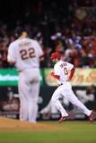 NLCS - San Francisco Giants v St Louis Cardinals - Game Two Fotografisk tryk af Jamie Squire