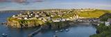 Panoramic View over Port Isaac, Cornwall, England Fotodruck von Brian Jannsen