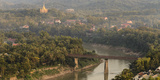 Laos, Luang Prabang. View from Mount Phousi Photographic Print by Matt Freedman