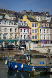 Fishing Boat in the Tiny Harbor of Cobh, County Cork, Ireland Photographic Print by Brian Jannsen