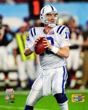 Peyton Manning Super Bowl XLI Action Photo