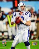 Peyton Manning Super Bowl XLI Action Photo