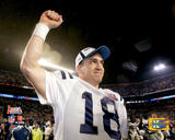 Peyton Manning Super Bowl XLI Celebration Photo