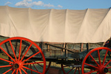 Antique wagon, Indiana State Fair, Indianapolis, Indiana, Photographic Print by Anna Miller