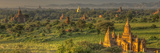 Sunrise over Bagan. Seen from Shwesandaw Pagoda. Bagan. Myanmar Photographic Print by Tom Norring