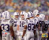 Indianapolis Colts Huddle SuperBowl XLI Photo