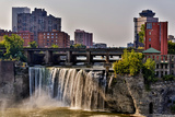 A View of High Falls on the Genesee River, Rochester New York State Photographic Print by Joe Restuccia