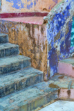 Mexico, Guanajuato. Colorful Stairs and Wall Photographic Print by Jaynes Gallery