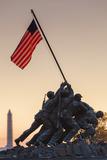 USA, Virginia, Arlington, Us Marine and Iwo Jima Memorial, Dawn Photographic Print by Walter Bibikow