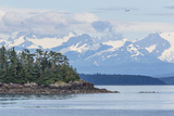 USA, Alaska. Air Taxi Flying over Landscape Photographic Print by Jaynes Gallery