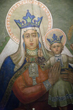 Mural in St. Nicholas Croatian Catholic Church in Millvale, Pa, Usa Photographic Print by Dave Bartruff
