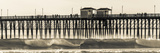 Waves at the Oceanside Pier in Oceanside, Ca Photographic Print by Andrew Shoemaker