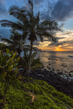 A Beautiful Sunset Princeville, Hi Photographic Print by Andrew Shoemaker