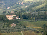 Italy, Tuscany. Countryside and Vineyards in the Chianti Region Photographic Print by Julie Eggers