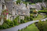 Arlington Row Houses, Bibury, Gloucestershire, England Reproduction photographique par Brian Jannsen