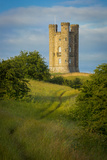 Morning at Broadway Tower, Cotswolds, Worcestershire, England Photographic Print by Brian Jannsen
