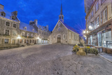 Canada, Quebec, Quebec City, Place Royale at Dawn Photographic Print by Rob Tilley