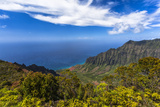 Kalalau Valley Overlook in Kauai Photographic Print by Andrew Shoemaker