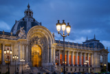 Twilight at Petite Palais, Paris, France Photographic Print by Brian Jannsen