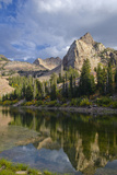 Lake Blanche and Sundial with Reflection, Utah Photographic Print by Howie Garber