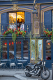 Historic La Perouse Restaurant in Saint Germain Des Pres, Paris France Fotografisk tryk af Brian Jannsen