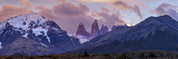 Las Torres after Sunset. Torres Del Paine NP. Chile. UNESCO Biosphere Photographic Print by Tom Norring