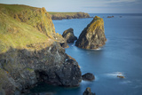 Rocky Coastline Near Lizard, Cornwall, England Photographic Print by Brian Jannsen