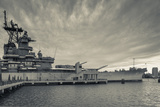 USA, New Jersey, Camden, Battleship Uss New Jersey, Bb62 Photographic Print by Walter Bibikow