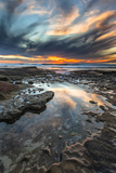 Sunset from the Tide Pools in La Jolla, Ca Photographic Print by Andrew Shoemaker
