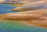 USA, Utah, Glen Canyon Nra. Rocky Shoreline of Lake Powell Photographic Print by Jaynes Gallery