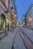 Canada, Quebec, Montreal, Old Montreal at Dawn Photographic Print by Rob Tilley