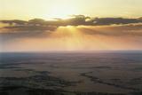 Tanzania, Serengeti National Park, Sunrise over Serengeti Photographic Print by Gavriel Jecan
