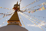 Dhodina Chorten Is Modeled on the Stupa of Boudhanath. Thimphu, Bhutan Photographic Print by Howie Garber