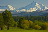 Bucolic Landscape, Black Butte Ranch, Sisters, Oregon, Usa Photographic Print by Michel Hersen