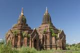 Htilominlo Temple. Bagan. Myanmar Photographic Print by Tom Norring