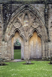 Wales. Remnants of Tintern Abbey, a 12th-Century Cistercian Abbey Photographic Print by Charles Cecil