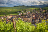 Village of Riquewihr, Along the Wine Route, Alsace Haut-Rhin France Photographic Print by Brian Jannsen