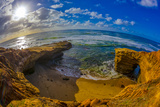 Sunset Cliffs in San Diego, Ca Photographic Print by Andrew Shoemaker