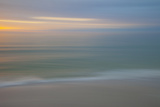 USA, Florida Beach Motion Blurred Abstract Photographic Print by Brian Jannsen