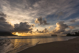 Sunset in Hanalei Bay, Kauai Photographic Print by Andrew Shoemaker