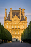 Sunset over Musee Du Louvre and Jardin Des Tuileries, Paris France Photographic Print by Brian Jannsen
